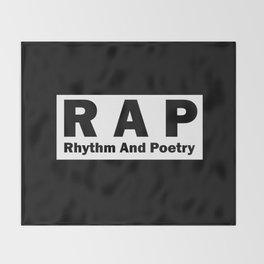 RAP Throw Blanket