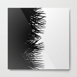 Side Fringe Metal Print