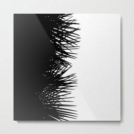 Side Fringe Metal Print