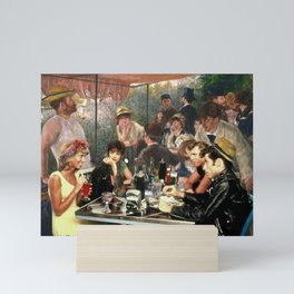 Renoir's Luncheon of the Boating Party & Grease Mini Art Print