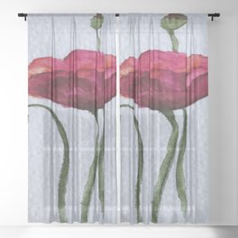 Summers Magic Sheer Curtain