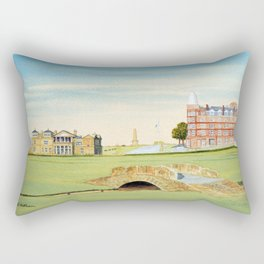 St Andrews Golf Course 18th Hole Rectangular Pillow