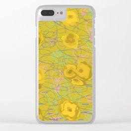 Lack of emotion is the strongest emotion Clear iPhone Case