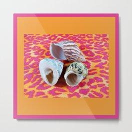 Wild Shells Metal Print