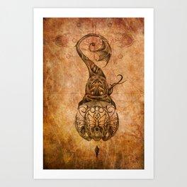 Zodiac:  Pisces Art Print