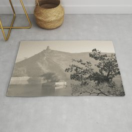 Black & White Landscape in Jaipur Rug