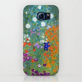 Gustav Klimt Flower Garden iPhone Case
