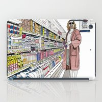 lebowski iPad Cases featuring Jeffrey Lebowski and Milk. by DJayK