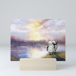 Companion Sheep Mini Art Print
