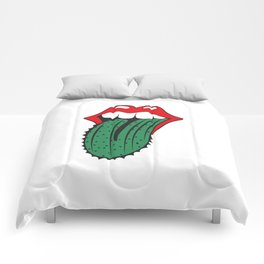 Rolling Tongues Comforters