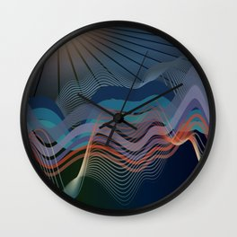 In The Still Of The Night Wall Clock