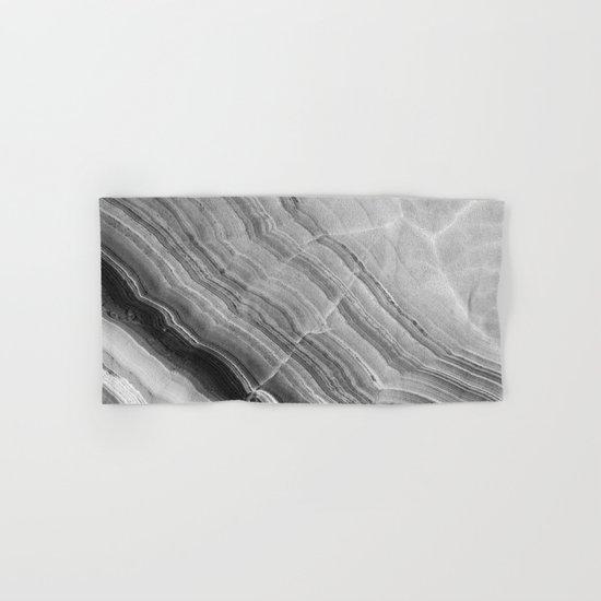 Shades of grey marble Hand & Bath Towel