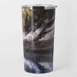 Reflections of a Dream Lake McCloud California Travel Mug