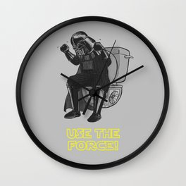 Use The Force! Wall Clock
