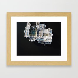 Udaipur Blue Framed Art Print
