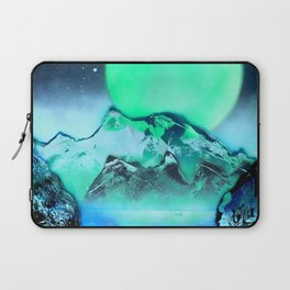 This is a Green Planet Laptop Sleeve
