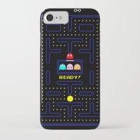 pac man iPhone & iPod Cases featuring Pac Man by Trash Apparel