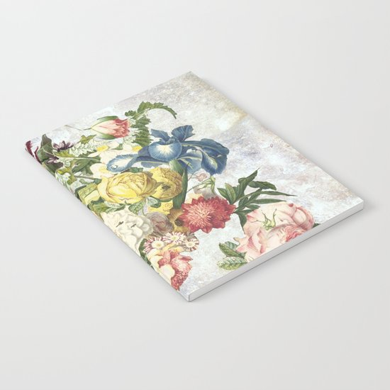 Flourish, spring, burgeon, burst! Notebook