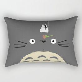 Cute Totoro Rectangular Pillow