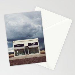 Summer storm | Marfa, Texas Stationery Cards