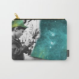 KID PAINTING THE UNIVERSE Carry-All Pouch