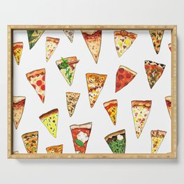 Pizza Pattern Serving Tray