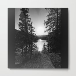 Devils Lake Metal Print