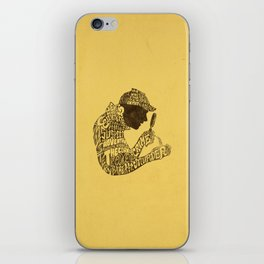 Man of Many Words iPhone Skin