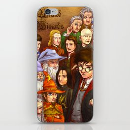 Wicked Wizards iPhone Skin