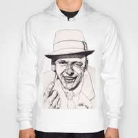 frank sinatra Hoodies featuring Frank by Paul Nelson-Esch Art