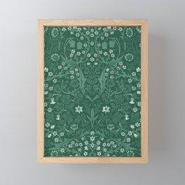 """William Morris """"Blackthorn"""" 4. Framed Mini Art Print"""