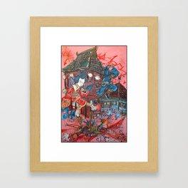 ninjay's 3 Framed Art Print