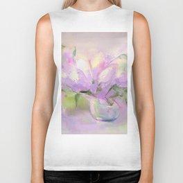 """Summer Bouquet"" oil painting by Diana Grigoryeva Biker Tank"