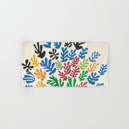 Leaf Cutouts by Henri Matisse (1953) Hand & Bath Towel