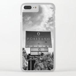 Positano XV Clear iPhone Case