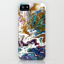 Color Oasis digitally enhanced from White Oasis iPhone Case