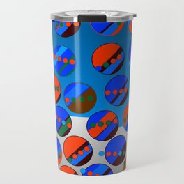 Bubbes Blues Travel Mug
