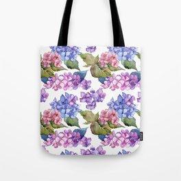 Hydrangea Pattern 03 Tote Bag