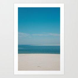 Noord Zee, Texel, Netherlands Art Print
