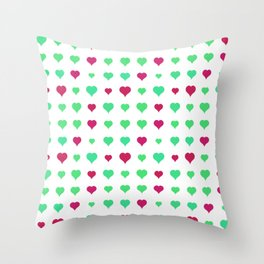 Love Colors Throw Pillow