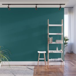 BM Beau Green Teal Aqua Turquoise 2054-20 - Trending Color 2019 - Solid Color Wall Mural