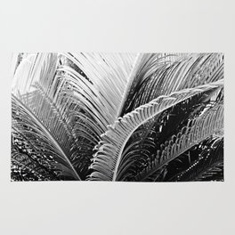 Palms monochrome II Rug