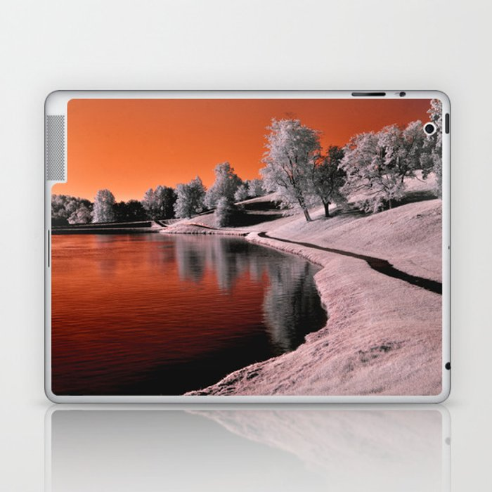 Infrared Sunrise Laptop & iPad Skin
