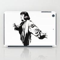 mia wallace iPad Cases featuring Mia Wallace by El Kane