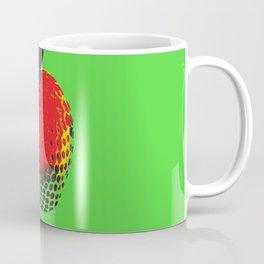 Strawberry Green - Posterized Coffee Mug
