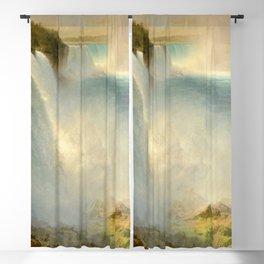 "Frederic Church ""Niagara Falls, from the American Side"" Blackout Curtain"