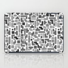 letter k - gaming blocks iPad Case