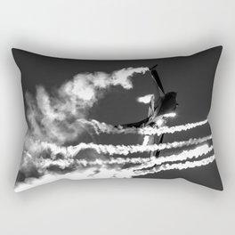 Belgian F16 and Flares Rectangular Pillow