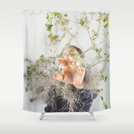 Interconnected II  Shower Curtain