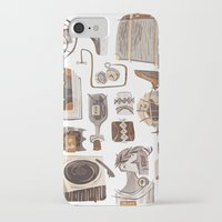 the office iPhone & iPod Cases featuring Office by pam wishbow